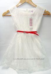 Нарядное платье для девочки 6-7 лет.