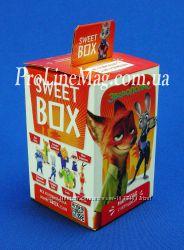 Свит Бокс  Зверополис Мармелад с игрушкой в коробочке 1210, 10г