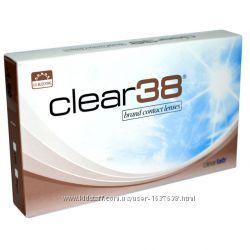 Линзы контактные на 3 месяца Clear 38