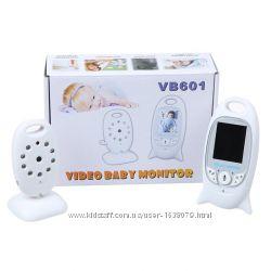 Видеоняня радионяня VB601 с режимом ночного видения и термометром