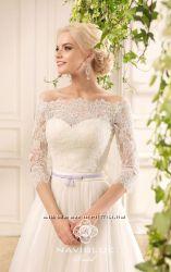 Счастливое платье американского бренда naviblue bridal