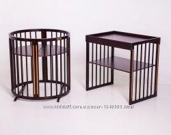 Овальная кроватка 9в1 Royal Sleep Limited Венге