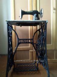 Антикварная ножная швейная машинка Singer 1908г. Германия