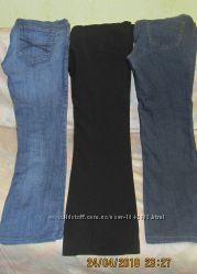 Демисезонные джинсы, брюки, штаны, одежда для беременных, 38 размер