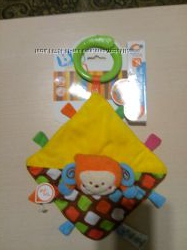 Развивающая игрушка-обнимашка Джунгли