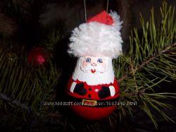 Распродажа Новогодние игрушки на елку. Ручная работа