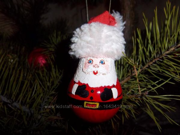 Новогодние игрушки на елку. Ручная работа
