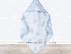 Детские полотенца стандартные и с капюшоном для купания IRYA CLOUD