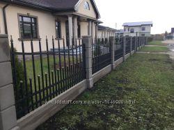 Забор для дома, дачи, баз отдыха, пансионата, гостиниц, профнастил