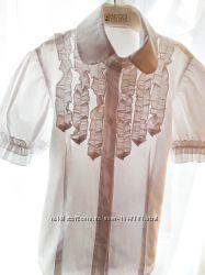 Блузка школьная 128-134 см