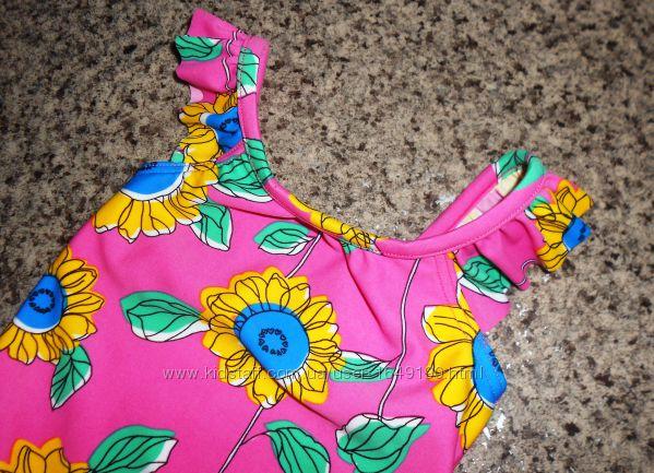 Сдельный купальник Marks&Spencer на девочку 6 месяцев