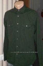 Рубашка Gap с длинным рукавом. Размер M. коттон