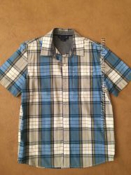 Рубашки с коротким рукавом на мальчика 10-12 лет GAP