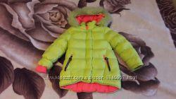 Зимняя куртка на девочку 4-5-6 лет