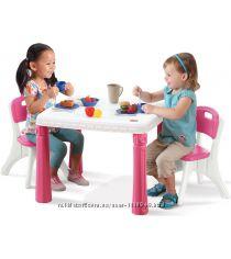 В Наличии Детский стол со стульчиками 719600 Step2
