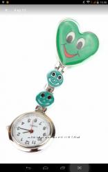 Часы прищепка