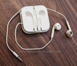 Наушники Apple, проводные, белые. Отличное звучание Есть опт. Новые.