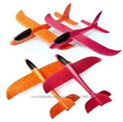 Детский Метательный Планер 48х48см Метательный самолёт Літак Активный отдых