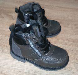Ботинки весна-осень серые фирмы Lupilu 24-29 размер