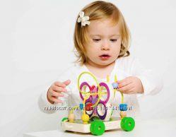 Пальчиковый лабиринт Бабочка ТМ Мир деревянных игрушек
