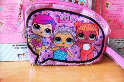 Косметичка L. O. L. surprise детская сумочка ЛОЛ сюрприз из США