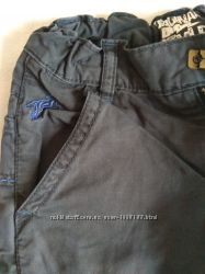 Демисезонные,  утепленные котоновые брюки