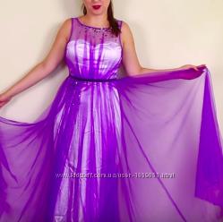 Платье вечернее выпускное новое. Размер S