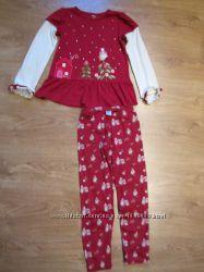 Комплект с бриджами Gymboree для девочки