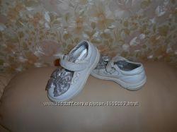 Туфли детские Ессо, кожа, р. 23 ст. 15 см.
