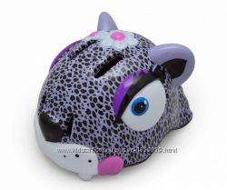 Шлем Wild Helmet Purple Leopard Glossy New