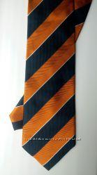 Шёлковый галстук ручной работы Alessandro Amadi MILANO Италия
