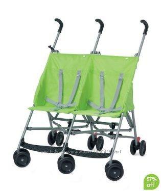 Mothercare twin m bu Прочная коляска для двойни, двойняшек.