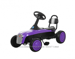 АкцияДетский педальный карт M 3413-9 фиолетовый