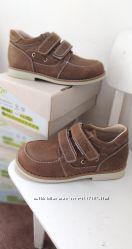 Детские ортопедические кожаные туфли ECOBY