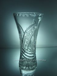 Хрустальные подарочные вазы для цветов BORISOV h 250 мм. Эксклюзив