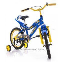 Уценка Велосипед Azimut KSR 16 Желто-синий