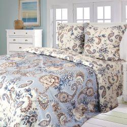 Комплект постельного белья двойной, бязь набивная