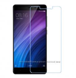 Защитное противоударное стекло на экран для Xiaomi Rdmi 4X