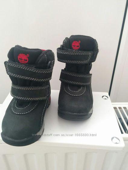 Детские -зимние ботинки  сапожки Timberland из материала gor-Te