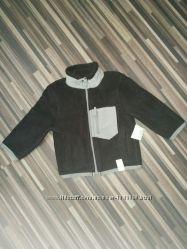 Тёплая флисовая кофта на мальчика 9-12мес Children&acutes Place