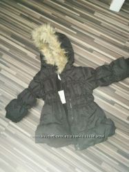удлиненная тёплая курточка на флисе на12-18 мес Children&acutes Place
