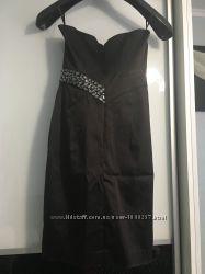 Фирменное платье бюстье в камнях Jane Norman