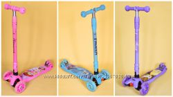 Самокаты Maxi Scooter Disney. Frozen. Beauty and the Beas. Princess.