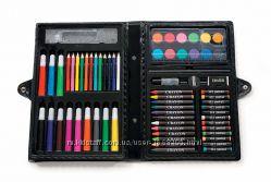 Набор художника 68 элементов Краска, мел, фломастеры, ручки, канцтовары