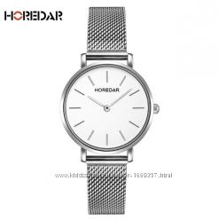 Наручные часы женские с серебристым ремешком код 352