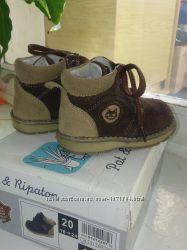 Черевички Pat & Ripaton ботиночки для мальчика обувь демисезон ботинки