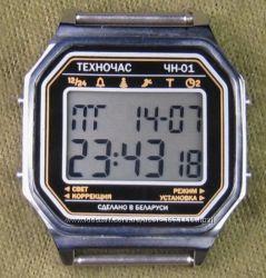 часы ЭЛЕКТРОНИКА ЧН-01 с АЦНХ 5 мелодий арт. 1132