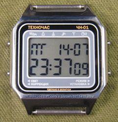 часы ЭЛЕКТРОНИКА ЧН-01 с АЦНХ 5 мелодий арт. 1134