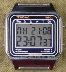 часы ЭЛЕКТРОНИКА ЧН-01 с АЦНХ 5 мелодий арт. 1137