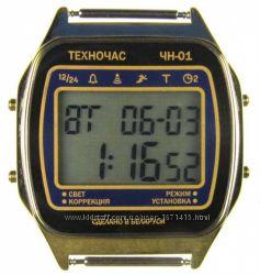 часы ЭЛЕКТРОНИКА ЧН-01 с АЦНХ 5 мелодий арт. 1168